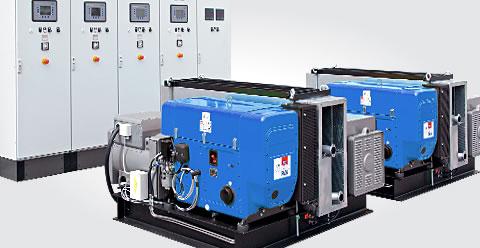 Industrial diesel engine, diesel engine, single cylinder engine